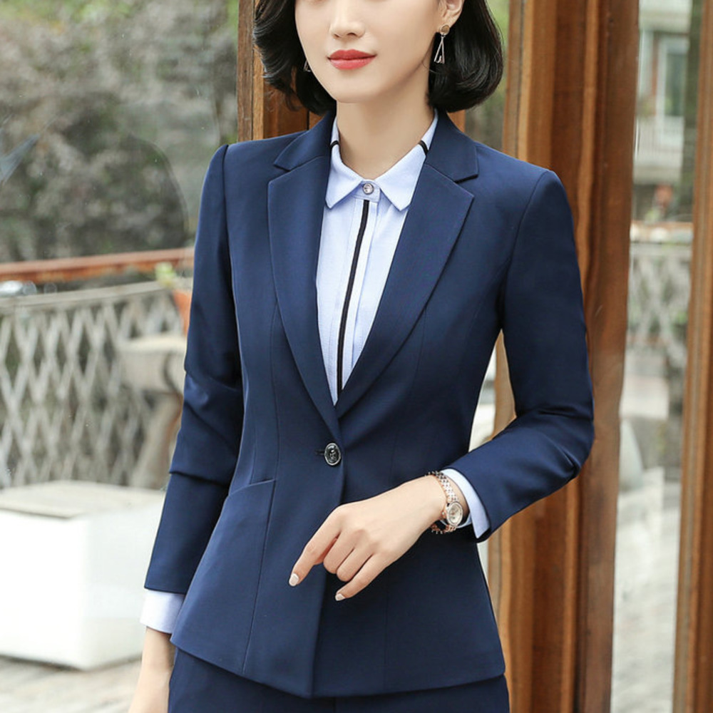 2018 Tradition OL Classic Long Sleeve Female Business Suit Sale Work Jaqueta Feminina Jacket Office Uniform Designs Women