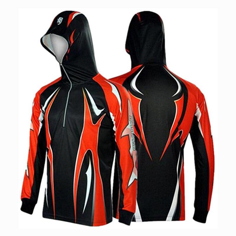 2017 New Brand Men font b Hiking b font climbing Cycling Fishing Clothes Anti UV Breathable