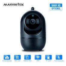 Caméra de Surveillance intelligente sans fil IP Wifi 1080P/720P, sécurité à domicile, avec suivi automatique et système infrarouge