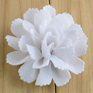 Image 4 - 200pcs/lot 17 Color U Pick 3 Inch Handmade Ballerina Chiffon Burlap Flowers Garment Hair Accessories Wholesale Supply FH59