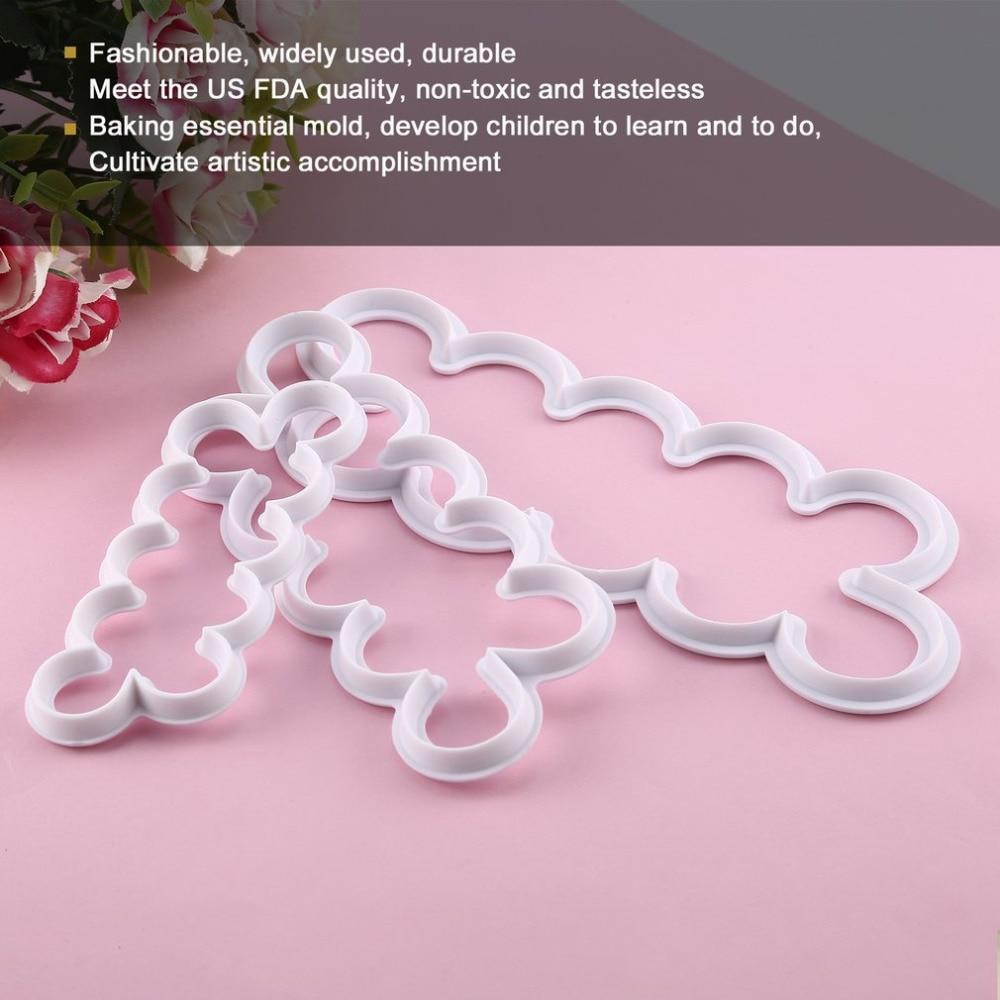 1pcs Plastic 3d printed PLA Ballet Dancer Cat cookie cutter