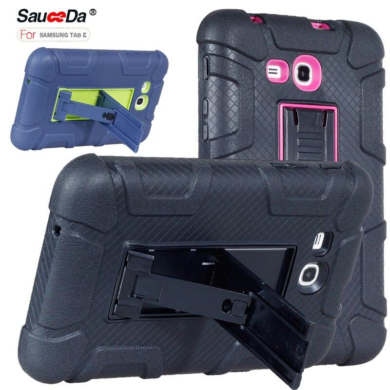 Case For SAMSUNG Galaxy TAB E 7.0 Silicon Amor Heavy Duty Drop Shock Proof tablet cover for galaxy tab 3 lite T110 T111 T113 bag cacharel туалетная вода женская amor amor l eau 50 мл os