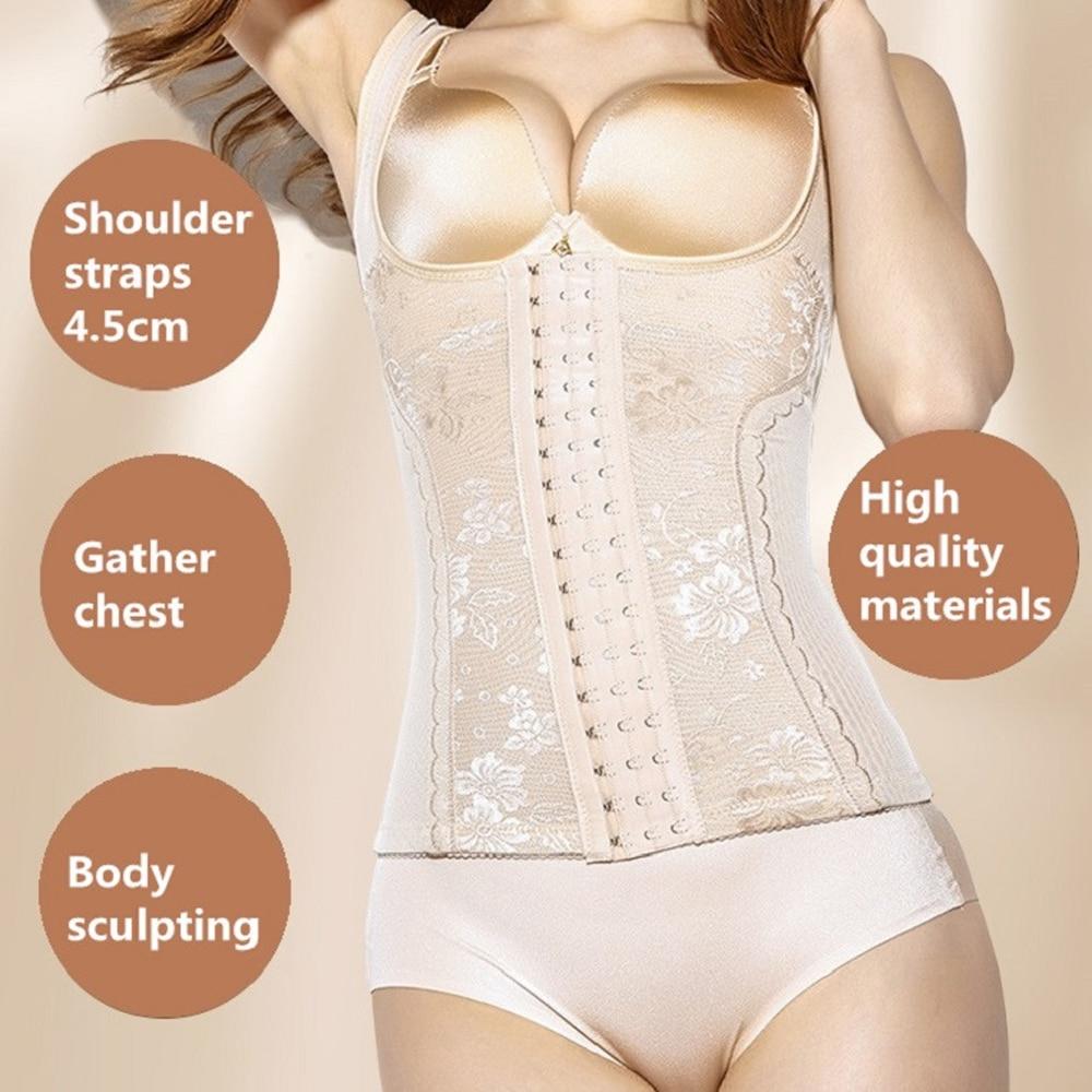 Femmes taille Shaper corps Shapers Lingerie brûlant graisse pour la gestion formateur minceur poids postpartum réparation déesse corset