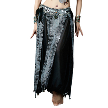 Belly Dance Chiffon Crocodile Print Harem Pants for Dancing Tribal Dancer Costume Leggings NEW (without belt)