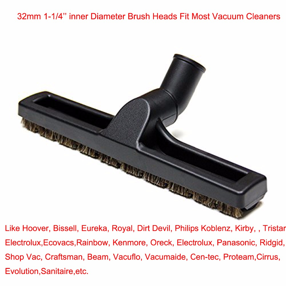 BRUSH 12-Inch 1.25-Inch 1-1/4-Inch 32mm For Philips Electrolux Ecovacs Vacuum Cleaner 360 Floor Brush Tool Replacement метчики 1 4 32