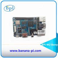 New products ! Quad Core cortex A7 CPU 1G DDR Banana pi BPI-M2 Berry ,same size as raspberry pi 3