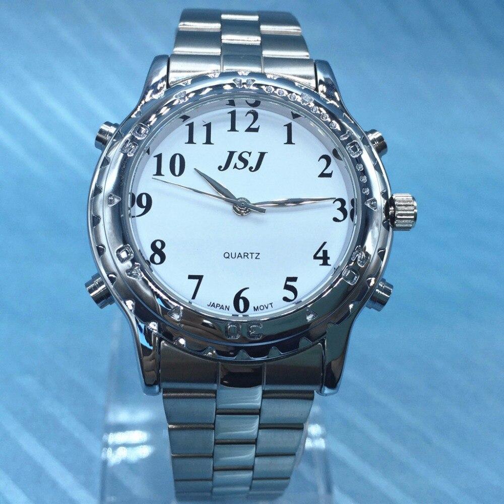 883728d6f1d Parlare Italiano para As Pessoas Cegas Italiano Falando Relógio em Relógios  de quartzo de Relógios no AliExpress.com