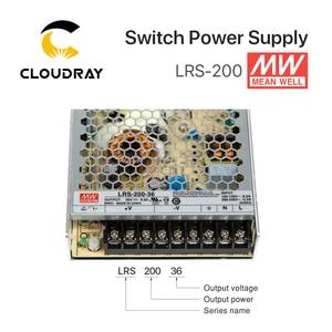 Image 3 - Meanwell LRS 200 מיתוג אספקת חשמל 12V 24V 36V 48V 200W מקורי MW טייוואן מותג LRS 200 24