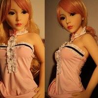 100cm mini Real Silicone Sex Dolls Skeleton Mini Adult Japanese Oral Love Doll Vagina Lifelike Pussy Toys for Men