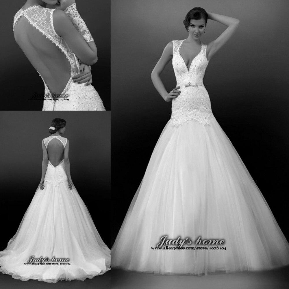 52 perfect low back wedding dresses low back wedding dresses Essense of Australia Backless Lace Mermaid Wedding Dress