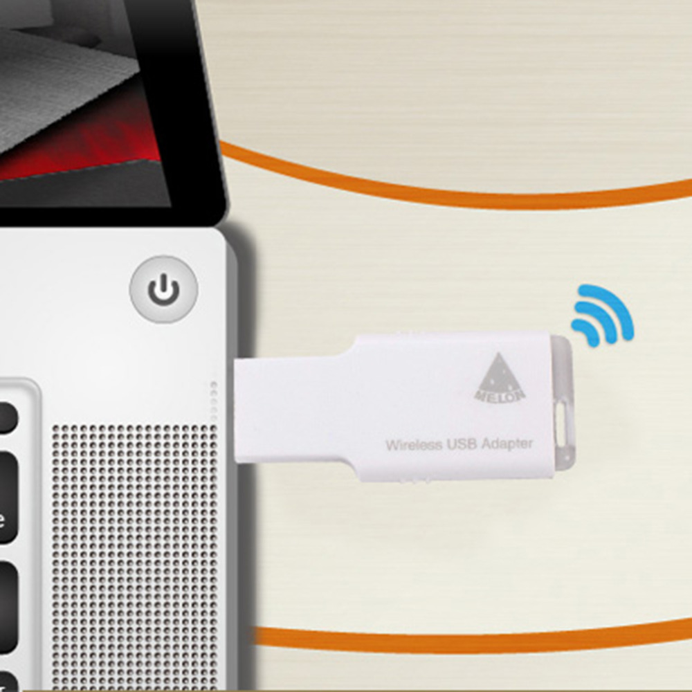 MELONMTK7601 2.4GHz 150 Mbps Wireless USB Adapter WiFi Repeater Router Multi-function Professional Intelligent Travel