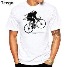 8dbd976929 Ninja Biker Road Biking T Shirt Funny Cyclists Short Sleeve Tops 100% Cotton  T-Shirt Round O Neck Men Tees