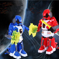 2017 Remote control intelligent combat robot 333 vs03 5 health values Melee Rally robot Competitive hegemony with cool light