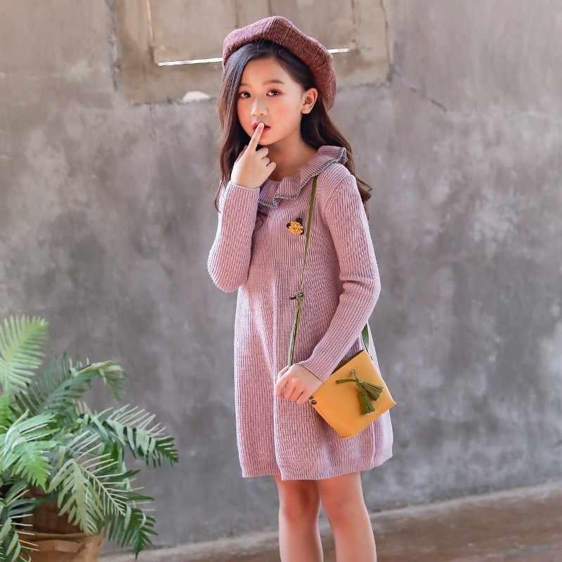 подробнее обратная связь вопросы о вязаное платье свитер для девочек