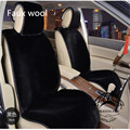 1 pc factory price synthetic fur car seat cushion popular car styling wool car cushion