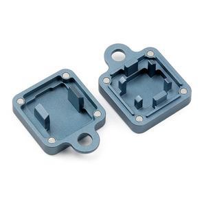 Image 4 - KBDfans x ai03 2 en 1 ouvre interrupteur en aluminium gris bleu
