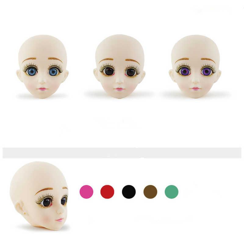 1/6 BJD куклы 13 шарнирная кукла с 3D глазами 30 см кукла длинный парик волосы женский голый обнаженный тело куклы игрушка для девочек Модная Кукла