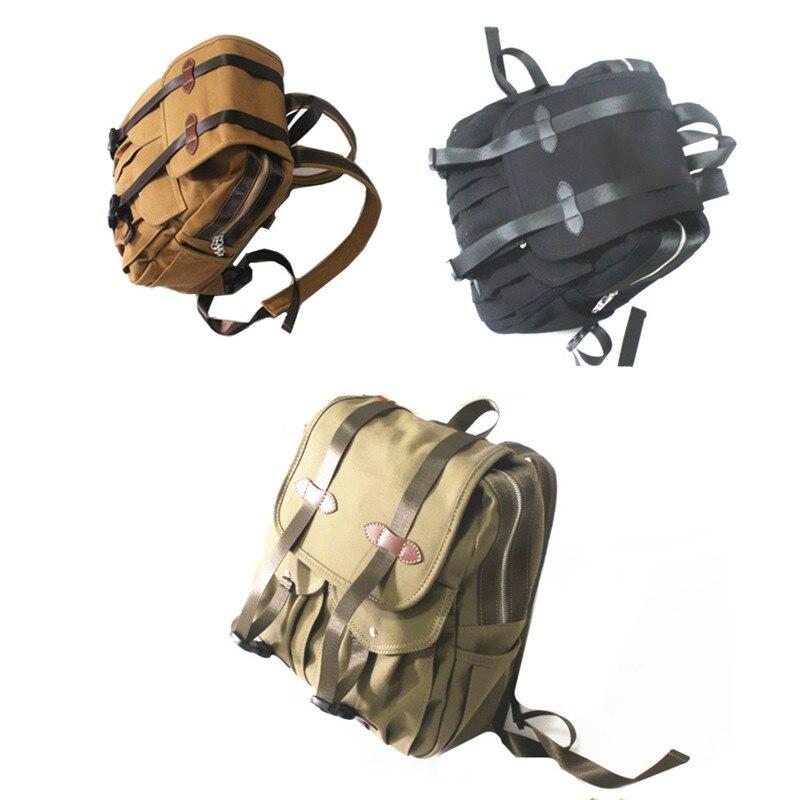 Hommes femmes Vintage rétro toile sac à dos voyage Sport sac à dos cartable randonnée sac d'école
