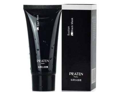 500pcs PILATEN Tearing style Deep Cleansing purifying peel off the Blackhead acne treatment black mud of