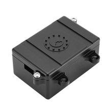 Receiver Box RC Car Radio Box Decoration Tool Metal ESC For 1/10 RC Rock Crawler Car Axial SCX10 RC4WD D90 D110 D130