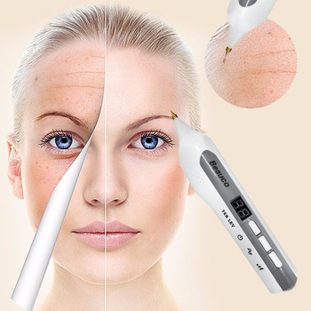 Beauty Device 3 Switchable Modes Laser Freckle Dot Mole Tattoo Removal Sweep Spot Pen Anti-Aging face massage