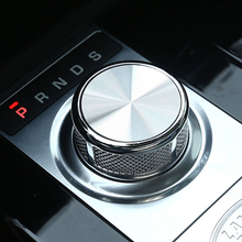 Para Land Rover Discovery 5 SV Para Range Rover Vogue 2017 de aleación de Zinc Perilla Del Cambio de Engranaje Cabeza de piezas de Repuesto y accesorios
