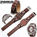 In vera pelle per Fossil JR1157 watch band accessori Vintage style strap con l'alta quantità giunto In acciaio Inox 24 millimetri