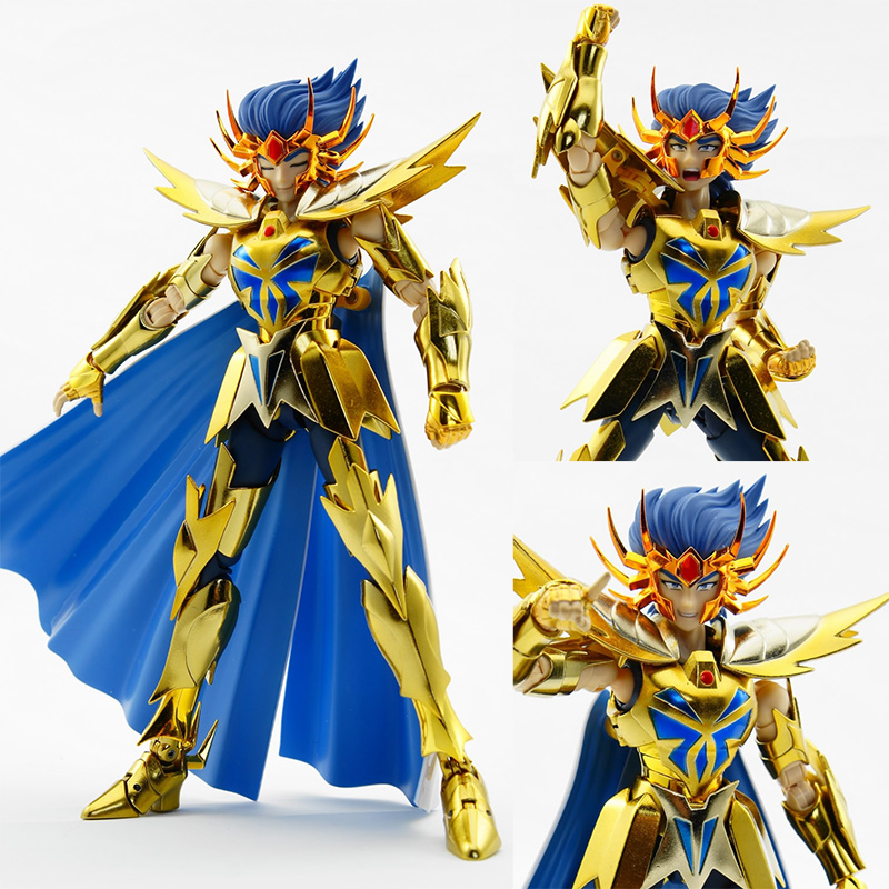 Newest Anime In-Stock Saint Seiya / myth cloth metal club Cancer Dethmask Myth EX Gold Saint /OCE color Metal feet Metal Cloth viruses cell transformation and cancer 5