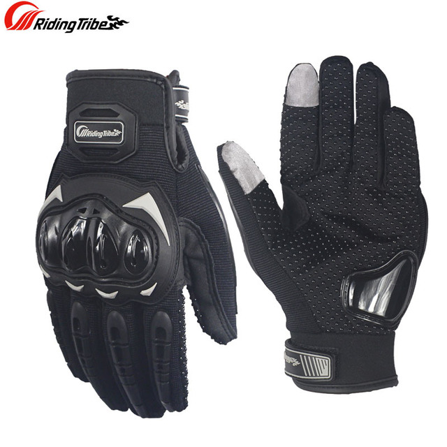 Motorcycle touch screen gloves motocross wearable sport full finger glove luvas moto Protective Gears gant moto racing gloves 2