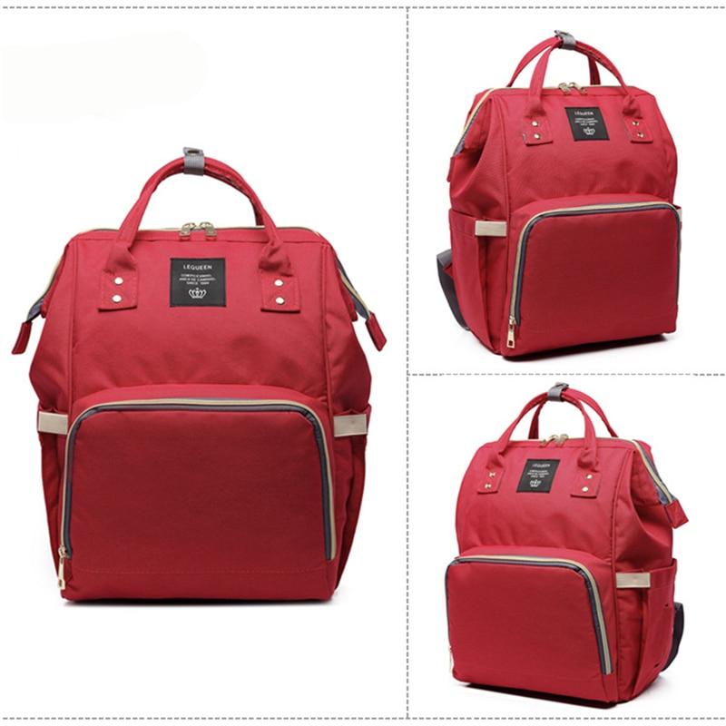 HTB1JpAvXOYrK1Rjy0Fdq6ACvVXaL 23 Colors Fashion Mummy Maternity Nappy Bag Large Capacity Baby Diaper Bag Travel Backpack Designer Nursing Bag for Baby Care