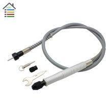 """Universal de 105cm de Aluminio Flexible mandril sin llave de 1/8 """"(3.175mm) para todos los dremel eléctrico amoladora herramienta rotativa"""