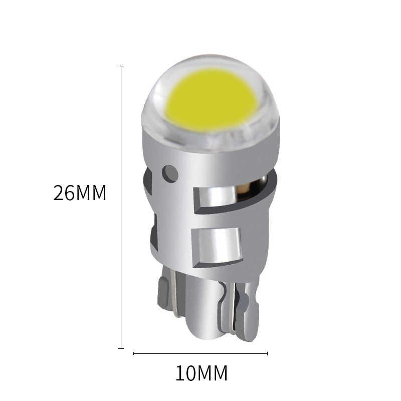 2018 1x T10 Mobil Led 168 194 2825 W5W LED untuk CREE Chip Led Penggantian Lampu Plat Nomor Mobil Mobil sumber Cahaya Aksesoris Mobil