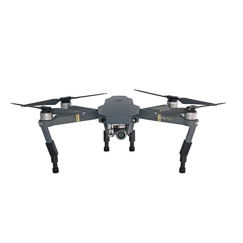 معدات الهبوط DJI Mavic Pro البلاتين الطائرة بدون طيار حامي الحرس الارتفاع موسع الساق لينة الربيع للصدمات قدم ملحق