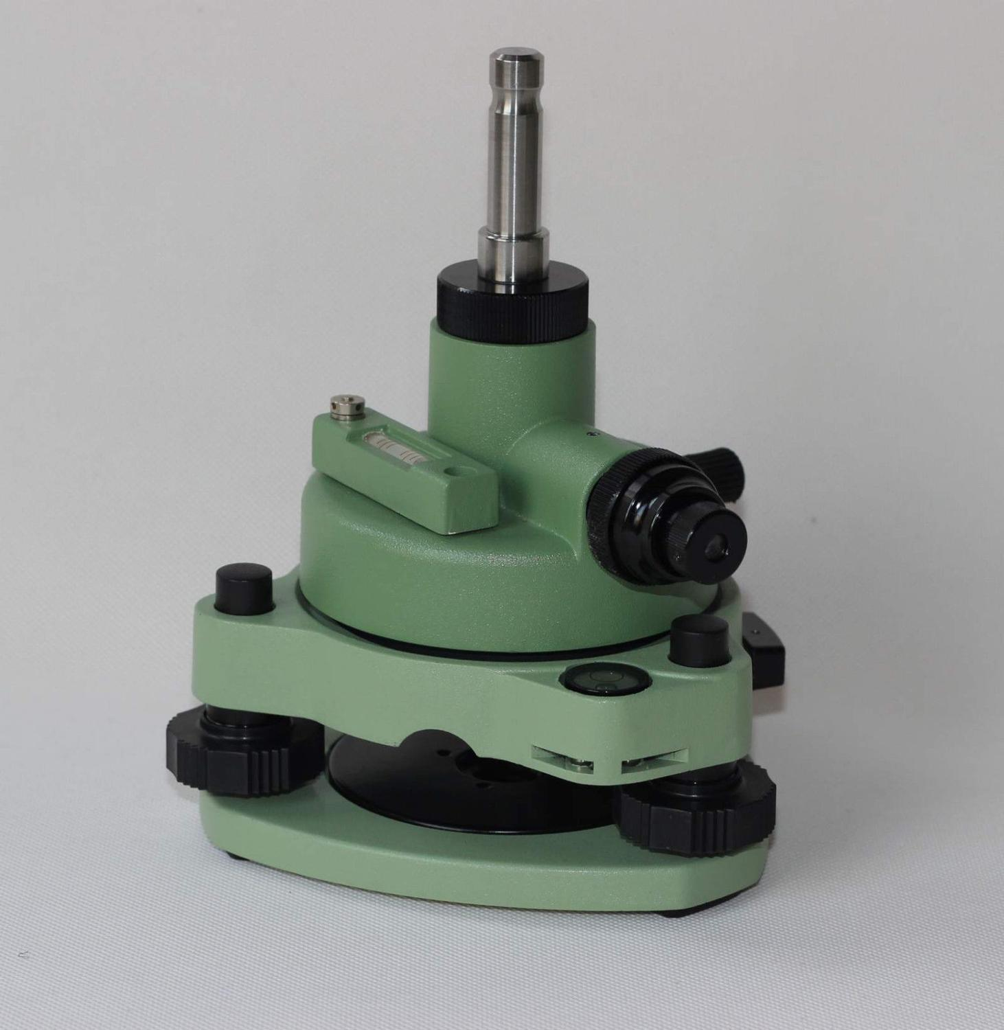 NEW GREEN TRIBRACH ADAPTER W OPTICAL PLUMMET FITS TYPE PRISMS