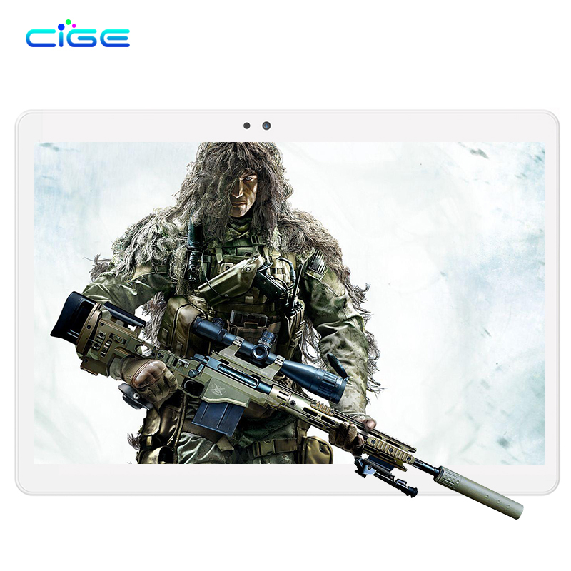 Russia Free Shipping 10.1 Inch Tablet PC 4G Lte Tablets Octa Core 4GB RAM 64GB 5.0 MP Android 8.0 GPS Wifi 1920*1200 IPS 4GB 10