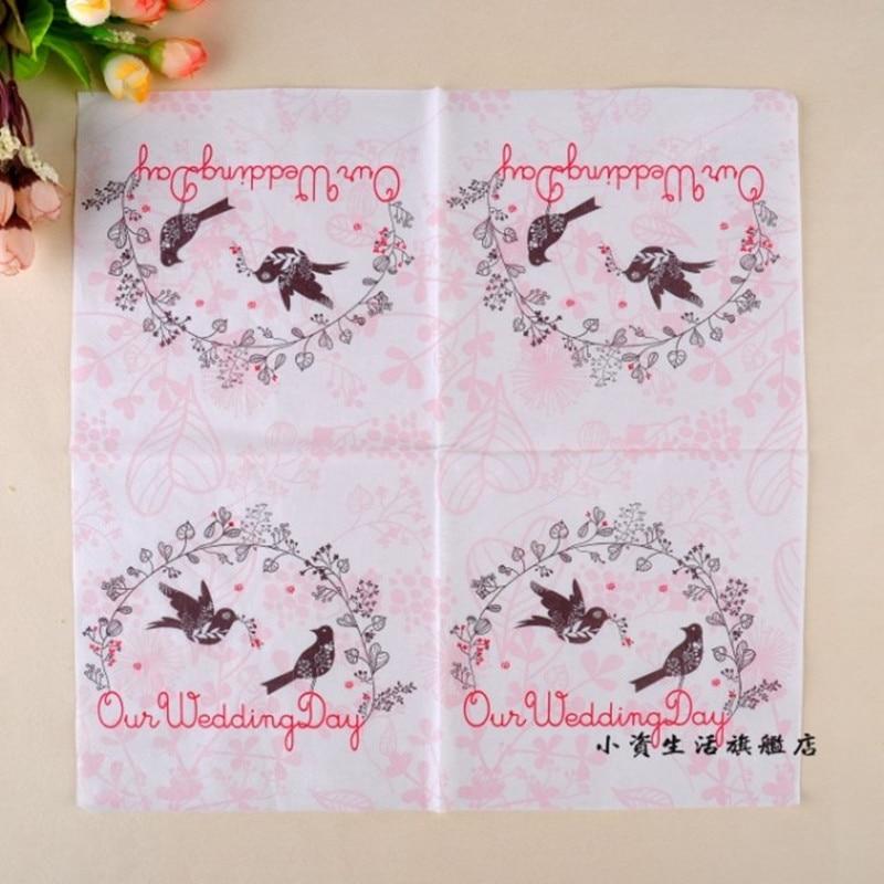 De la categoría alimenticia 60 unids lindo decoupage servilleta de papel tisú de
