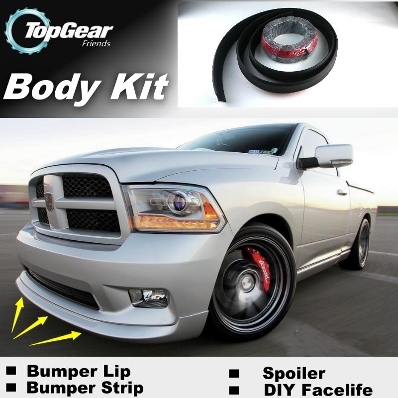 Bumper Lip Deflector Lips For Dodge Ram SRT 10 Front ...