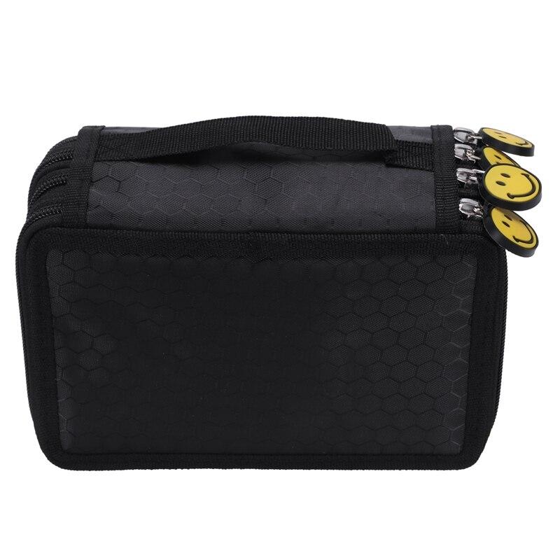 Pencil Bags cases box case boxes A pencil Black