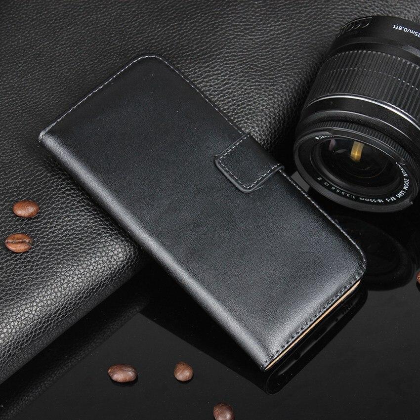 Äkta läder plånbok med stativ magnetisk lås telefon ärmväska - Reservdelar och tillbehör för mobiltelefoner - Foto 2