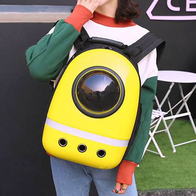 New Space Capsule Astronaut Pet Cat Backpack Bubble Window for Kitty Puppy Chihuahua Small Dog Carrier Crate Bag Cave Party Gift 1