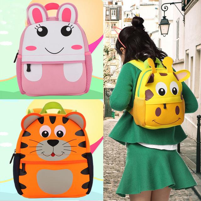 New 3D Animal Design Backpacks For Kids