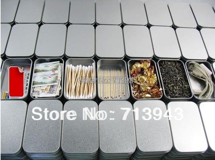 Size94x59x21mm silver rectangle tin boxplain metal boxsmall tin size94x59x21mm silver rectangle tin boxplain metal boxsmall tin box reheart Images