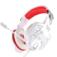 KOTION EACH G1100 Professional Gaming Headphone Gamers Headset With Mic Stereo Bass Breathing LED Light For