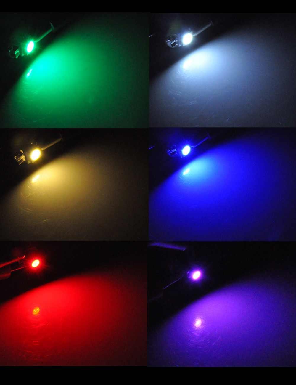 AutoEC 10X автомобиль инструмент свет T3 T4.2 1210 3528 T4.7 5050 1 SMD светодио дный DC12V приборной панели авто лампы тире Кластерные лампы 6 Цвет # LA05