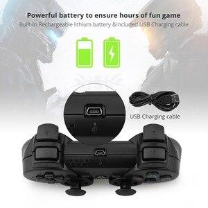 Image 3 - Gamepad אלחוטי Bluetooth בקר עבור PS3 ג ויסטיק משחק בקר מתג Gamepad עבור סוני פלייסטיישן 3 משחקי אבזרים