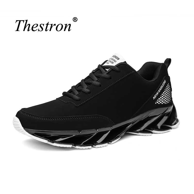 e4ddea77 ... Thestron Весна кроссовки Кроссовки мужские черные дизайнерские Для  мужчин кроссовки стабильность обувь для бега Ман Одежда ...
