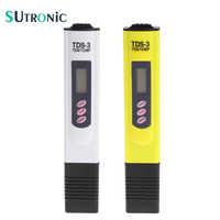 High Quality Digital LCD Water TDS Meter Quality Testing Pen Purity Filter 0-9990 PPM Portable TEMP/PPM Water Quality
