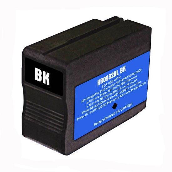 Einkshop 932 932 xl Preto Cartucho de Tinta Compatível para 932 HP 932xl para OfficeJet Pro 6100 6600 Impressora de 6700