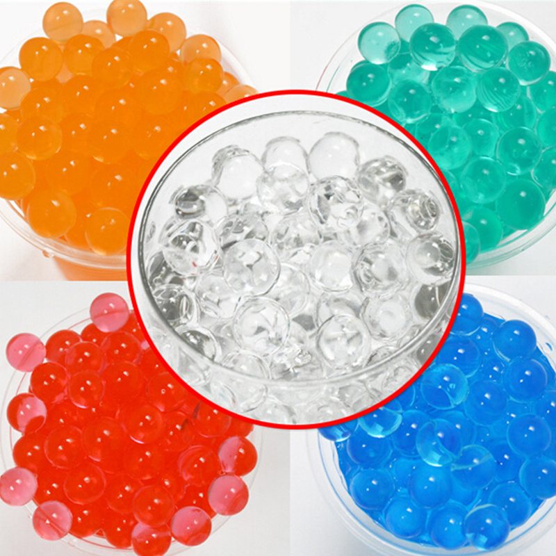 20000pc/lot Color Soft Crystal Bullet Water Gun Paintball Bullet Orbeez Gun Toy Bibulous ...