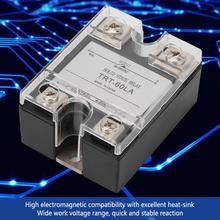 TRT-60LA SSR Solid State Relay 4-20MA to AC Output 28-280V AC AC Solid State Relay Board Voltage Relay high quality hot sale lsr1 1 310aa 10a ac to ac 90 250vac to 24 440ac ssr thermal compound solid state relay heat sink new